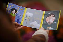 """Knihy - leporelo """"Taký obyčajný príbeh"""" - 8905853_"""