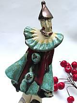 Dekorácie - klaun figúrka - 8902276_