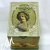 Krabičky - Šperkovnica veľká so zrkadlom - 8904004_
