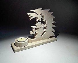 Svietidlá a sviečky - Svietnik na vonnú sviečku - 8904587_