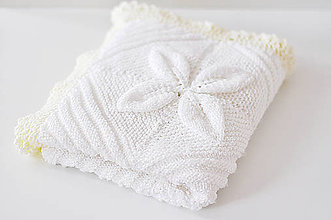 Textil - Pletená deka - 8903656_