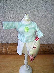 Hračky - Pyžamko pre bábiku- 26-27 cm- výpredaj, alebo darček. - 8904488_