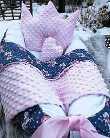 Detské doplnky - Set hniezdo pre bábätko Popoluška - 8907855_