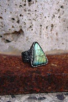 Prstene - Trojhran - Labradorit - 8906782_