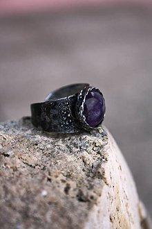 Prstene - Jednoducho Ametyst - 8906859_