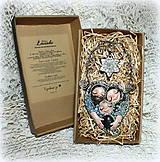 Dekorácie - ♥ Vianočný ochranný amulet s labradoritom 3.♥ - 8908662_