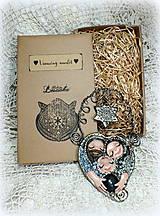 Dekorácie - ♥ Vianočný ochranný amulet s labradoritom 3.♥ - 8908663_