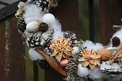 Dekorácie - Vianočný venček - 8909369_