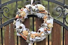 Dekorácie - Vianočný venček - 8909371_