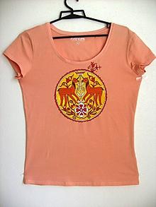 Tričká - Dámske tričko Jednorožec, veľkosť M - 8906530_