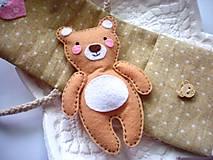 Hračky - Drobnosti v kapsičke pre dievčatá (Medvedík) - 8907685_
