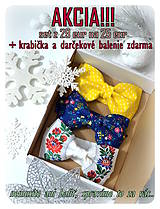 Doplnky - LIMITOVANÁ AKCIA - set 3 motýlikov + darčekové balenie zdarma - 8908920_