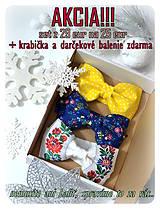 Doplnky - LIMITOVANÁ AKCIA - set 3 motýlikov + darčekové balenie zdarma - 8908924_