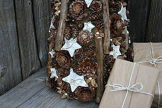 Dekorácie - šiško-stromček vianočný2 - 8908622_