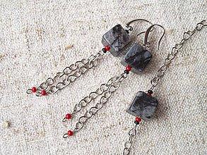 Sady šperkov - jaspis a la picaso - 8909013_