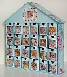 Krabičky - Lesnou cestičkou domček rezervé - 8907775_