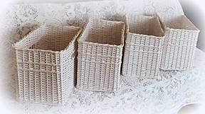 Košíky - Košík s otvorom (34 x 22 v 26) - 8908007_