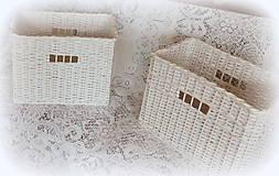Košíky - Košík s otvorom (34 x 22 v 26) - 8908017_