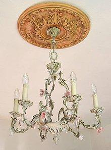 Svietidlá a sviečky - Luster Romance - 8912100_