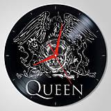 Hodiny - Queen - vinylové hodiny (vinyl clocks) - 8910331_