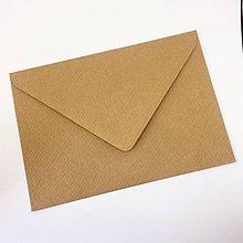 Papier - Obálka C6 - s rebrovaným vzorom - 8911646_