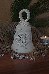 Dekorácie - zvonček-ľudový motív - 8913631_