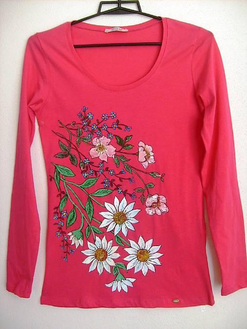 a549b919a21d Dámske tričko Kvety