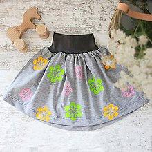 Detské oblečenie - Suknička VÝPREDAJ!!! - 8910662_