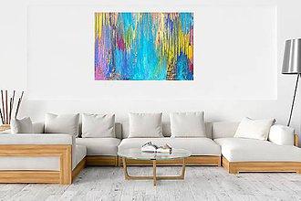 Obrazy - Posledná paleta farieb- veľký obraz - 8912665_