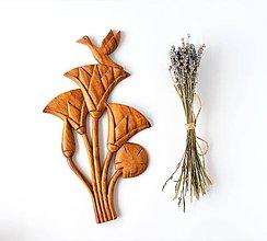 Obrazy - Angel bird Lotusový kvet - umelecká dekorácia na stenu - 8914093_