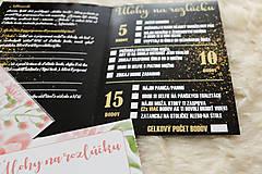 Darčeky pre svadobčanov - Hry na rozlúčku so slobodou (Úlohy na rozlúčku) - 8910476_