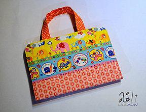 Hračky - Detský kufrík na kreslenie Sloníky - 8914209_