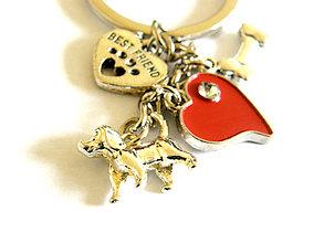 Kľúčenky - najlepsi kamarat - psik - klucenka - 8913910_