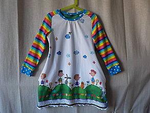Detské oblečenie - Šaty detské - Jasno, miestami oblačno - 8913680_