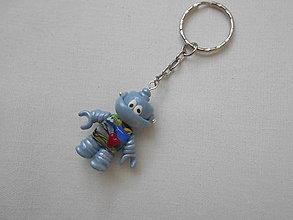 Kľúčenky - kľúčenka robot - 8912249_