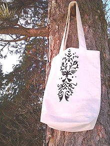 Nákupné tašky - Vyšívaná poézia III. - 8912278_
