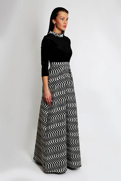 Plesové šaty Lyra   ceccilia - SAShE.sk - Handmade Šaty c389b3088dd