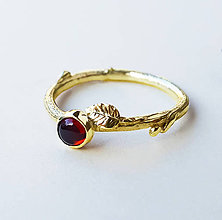 Prstene - Almandin twig - 8917570_