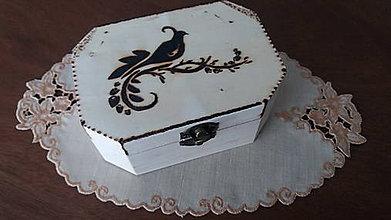 Krabičky - Drevená krabička - 8916265_