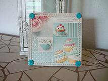 Obrázky - Decoupage obrázok Sweet Cupcakes - 8916448_