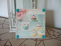 Obrázky - Decoupage obrázok Sweet Cupcakes - 8916449_