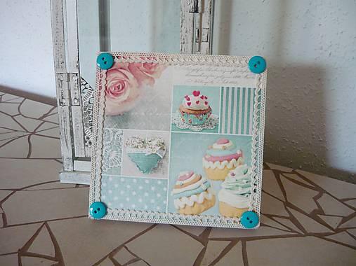 Decoupage obrázok Sweet Cupcakes