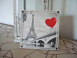 Obrázky - Decoupage obrázok Paríž - 8916531_