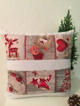 Úžitkový textil - Vianočná obliečka - 8917439_