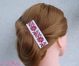 Ozdoby do vlasov - Folklórna spona - 8914787_