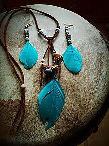 Sady šperkov - set Tyrkys + Koral - 8916225_
