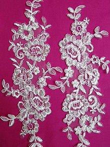 Textil - čipková aplikácia LA35 - 8916065_