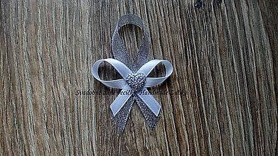 Pierka - Bielo-strieborné svadobné pierka - 8915750_