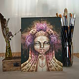 - Portrét z hmly Fine Art Print, S-XL, papier/doska (M-Board (22,5x30cm na doske)) - 8915459_