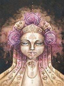 Obrazy - Ticho (Art Print, S-XL) (L-Board (30x40cm na doske)) - 8915208_